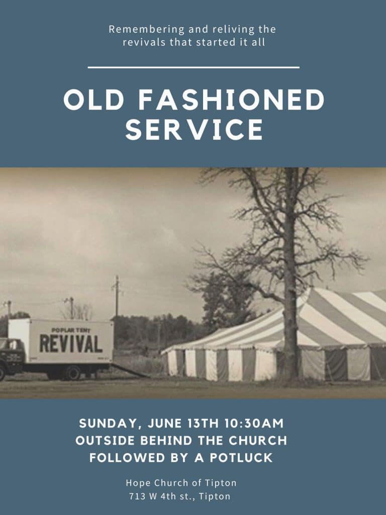 Old Fashioned Service